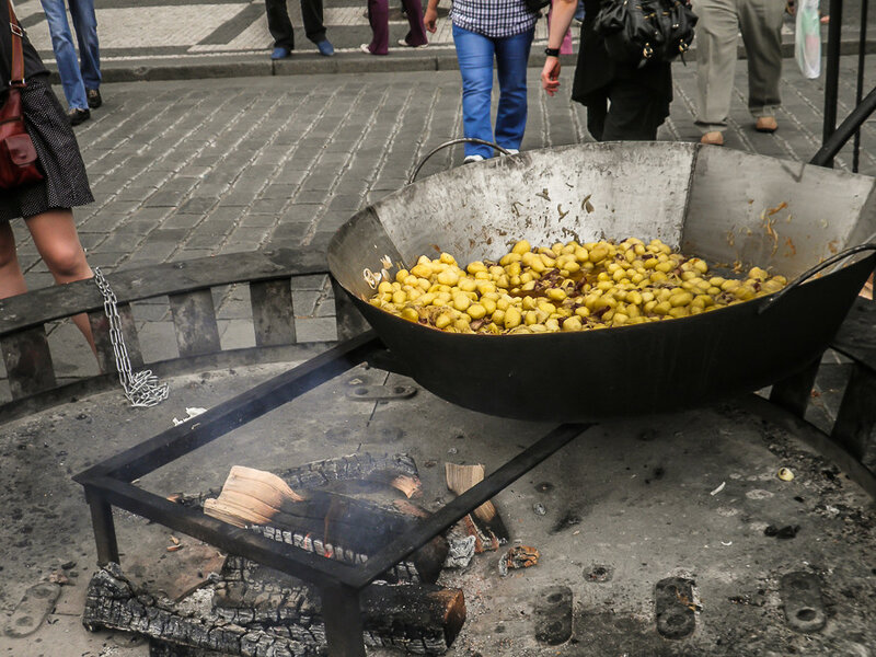 Сковородочка с картошкой