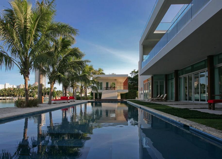 Роскошный особняк в Майами Бич от Touzet Studio