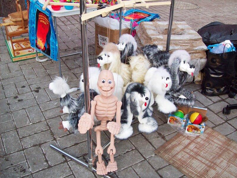 Детские игрушки на Крещатике