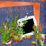 "Скрап набор ""цветочная улыбка"" 0_7412c_9ff64aea_S"