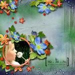 """Скрап набор """"цветочная улыбка"""" 0_7416e_8aac38c4_S"""