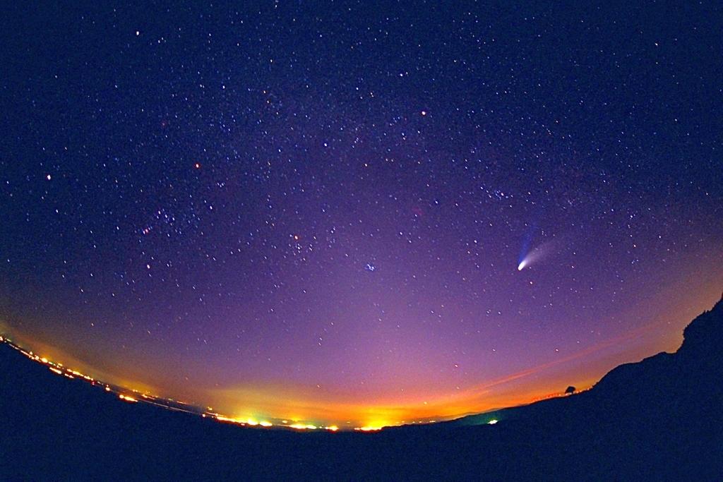 Кометы - одинокие космические странники