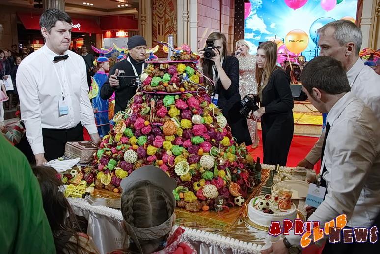 Открытие «Центрального Детского Магазина на Лубянке»