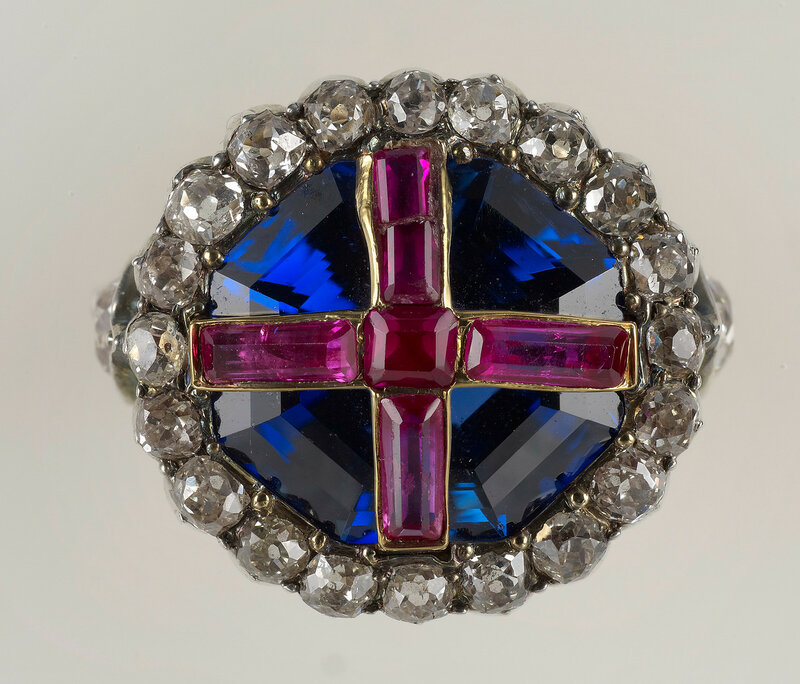 Коронация кольцо королевы Виктории  1838