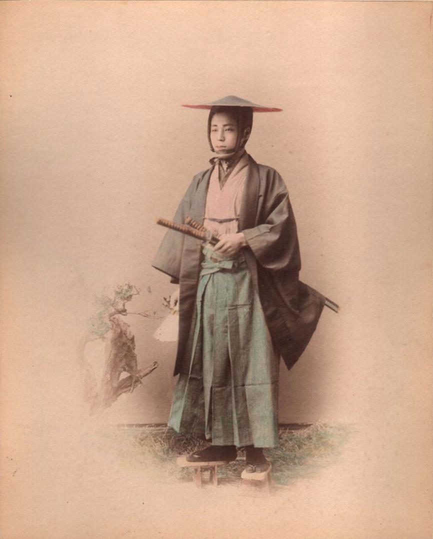 Самурай, ок 1870