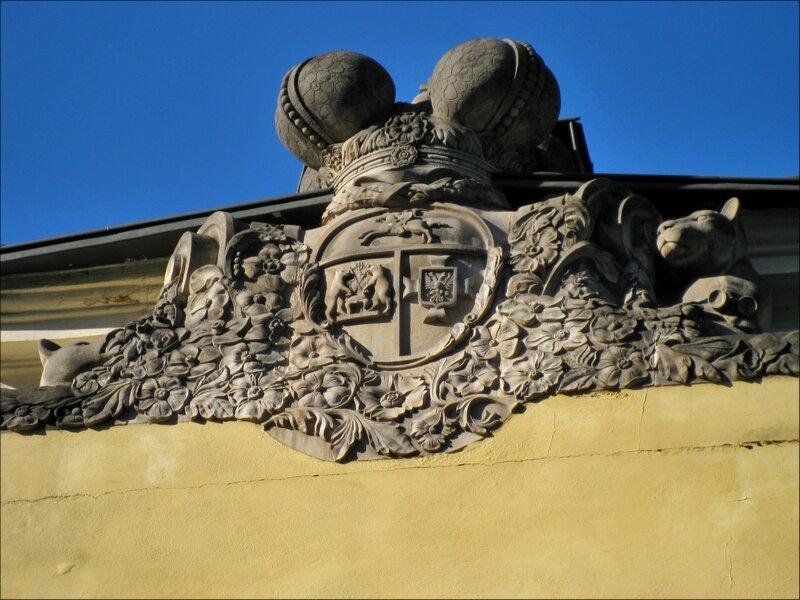 Герб Голицыных, усадьба Голицыных, Москва
