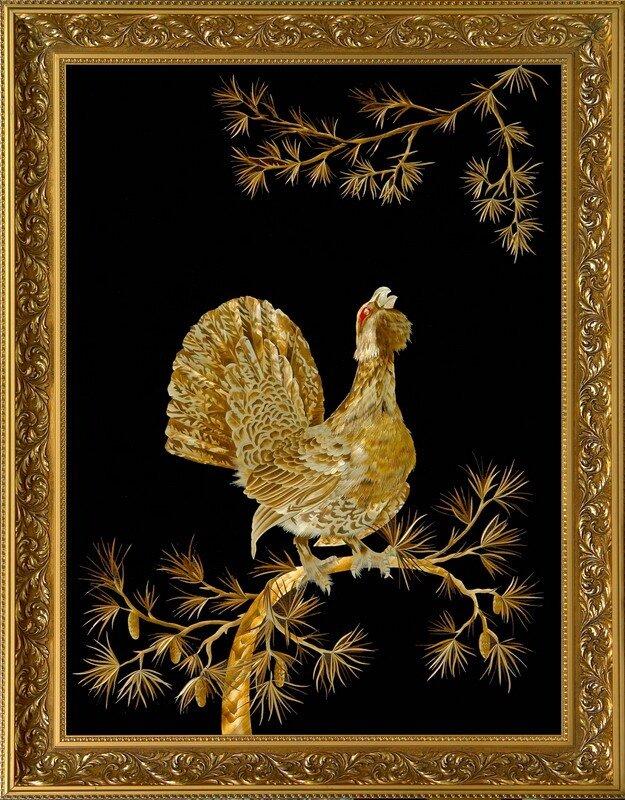 0 65fe8 8e5fc43c XL Картины из соломки Валерия Козлова.