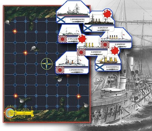 военно-морская настольная игра