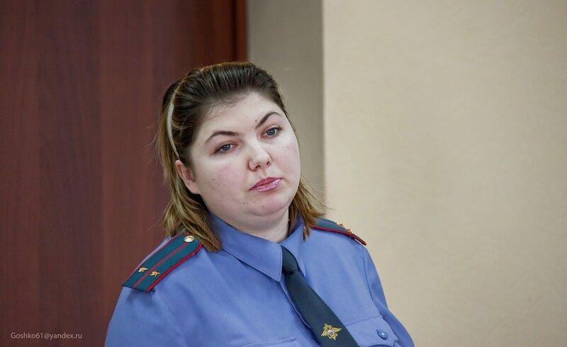 инспектор ОДН, лейтенант милиции Мария АЛЕКСЕЕВА