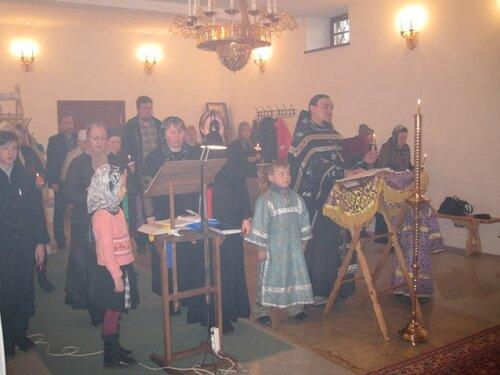Богослужения Великой Пятницы