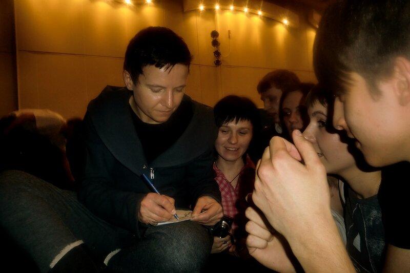 Сурганова и Оркестр, Саратов, актовый зал СГСЭУ, 16 марта 2011 года.