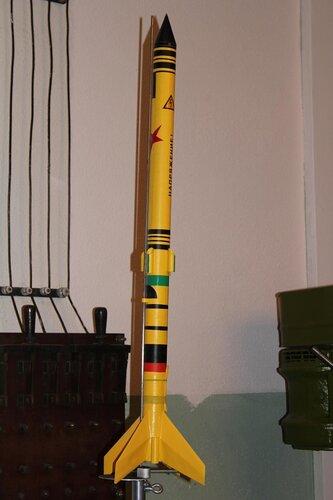 Летающая модель ракеты