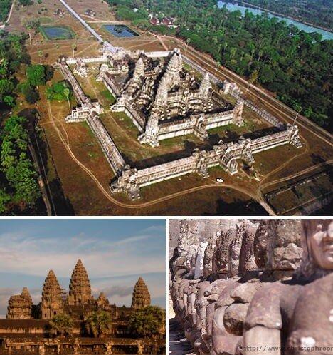 кхмерская империя, камбоджа