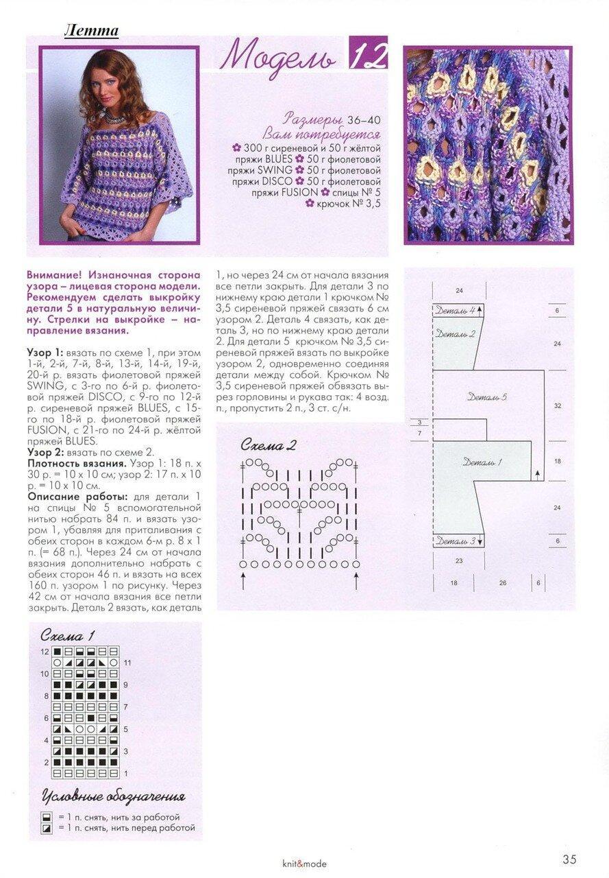 Вязание для молодежи схемы журналы