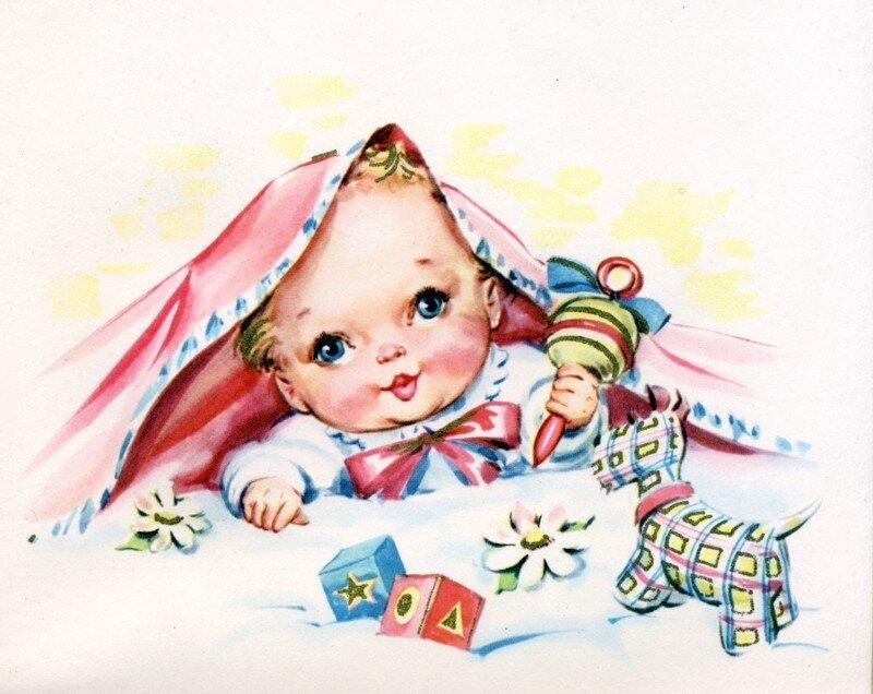 Открытки для ребеночка