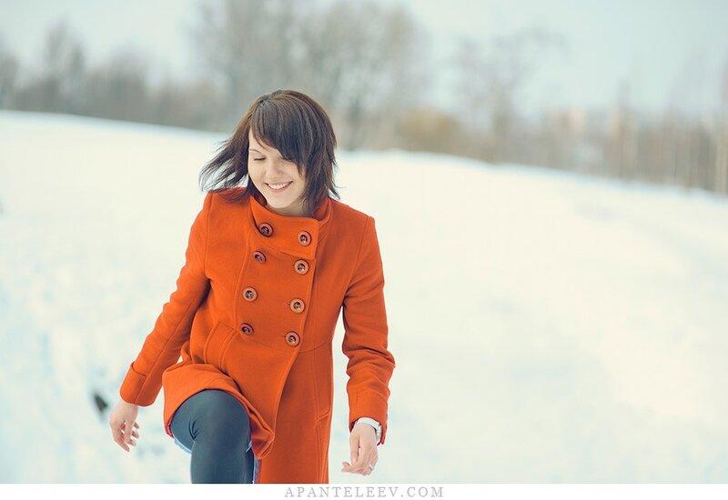 Фотосессия зимой. фотограф Мытищи