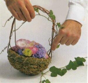 Праздничный цветочный декор