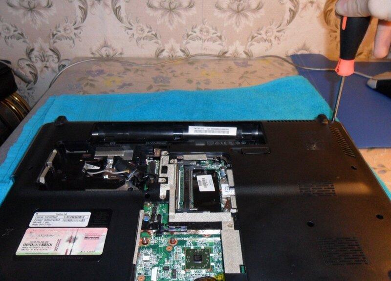 Не включается ноутбук ремонт своими руками 77