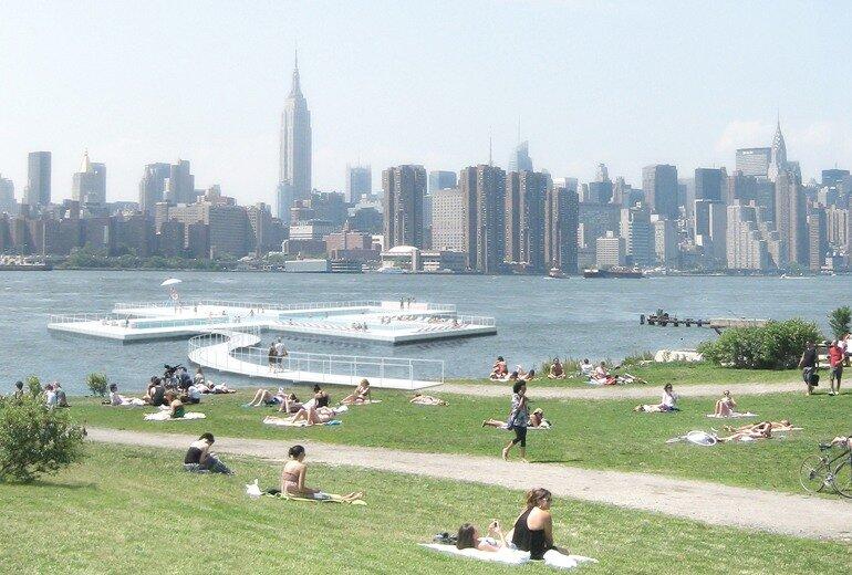 бассейн в нью-йорке