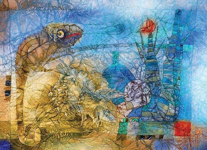 Морской натюрморт. Авторы Сабир и Светлана Гаджиевы