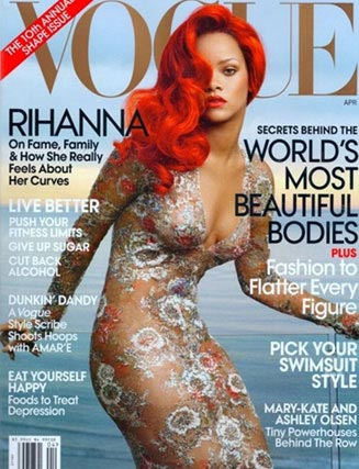 Рианна на обложке американского Vogue / Rihanna by Annie Leibovitz