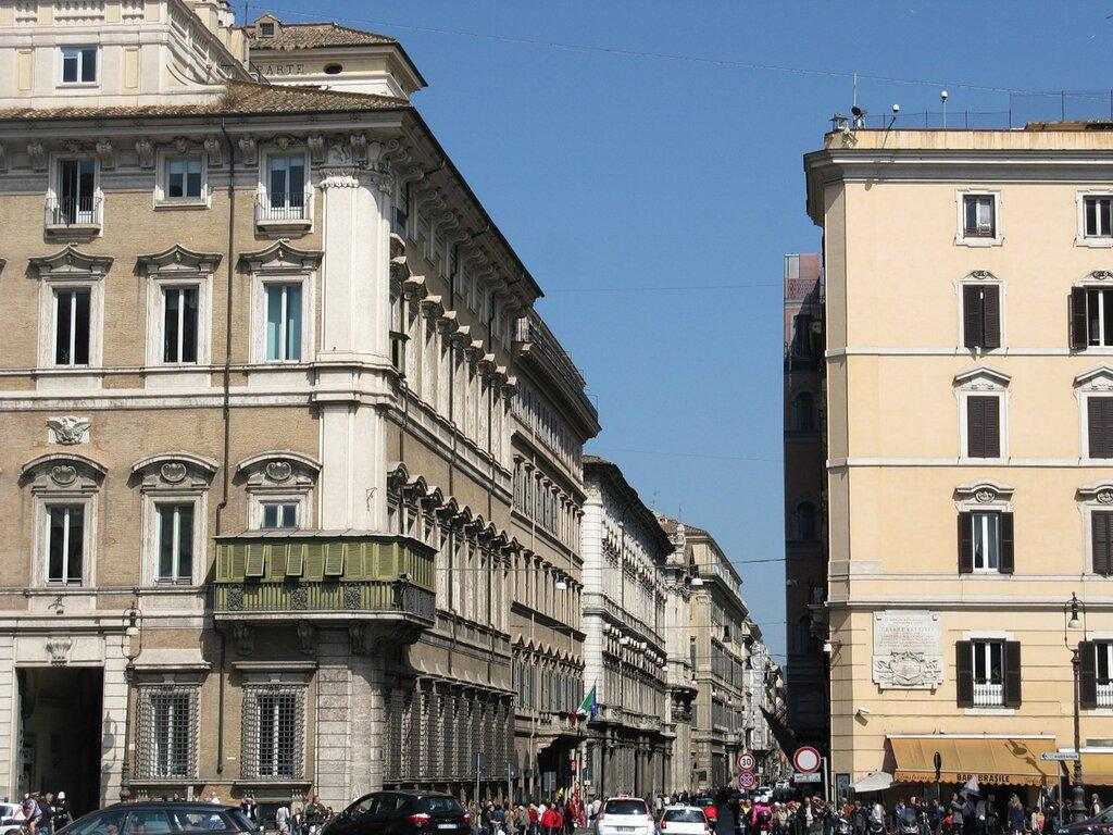 Рим. Виа дель Корсо