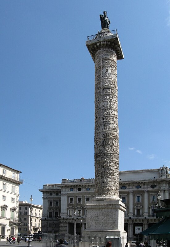 Рим. Колонна Марка Аврелия (Colonna di Marco Aurelio)
