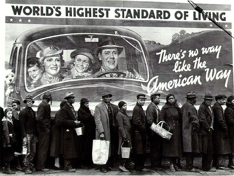 Margaret Burke-White, Worlds Highest Standard Of Living, c. 1933
