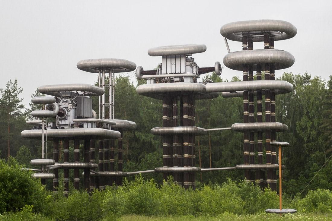 электрическая схема генератора маркса
