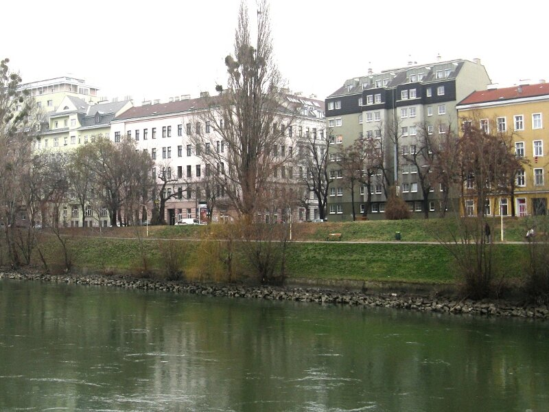 Набережная Хундертвассера, Вена