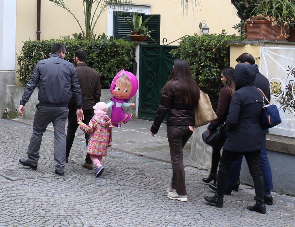 Сорренто. Улица Витторио Венето (Via Vittorio Veneto)