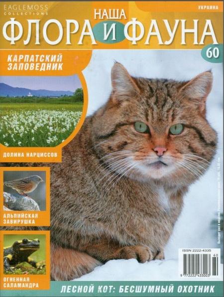 Книга Журнал: Наша флора и фауна №60 (2014)
