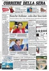 Журнал Il Corriere della Sera  (27 Ottobre 2014)