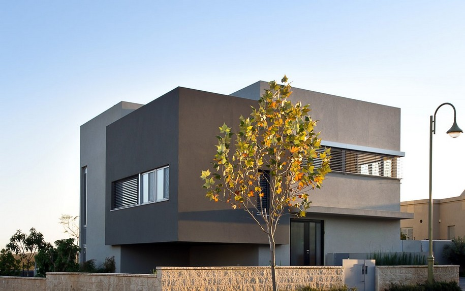Hasharon House в Израиле от Sharon Neuman Architects