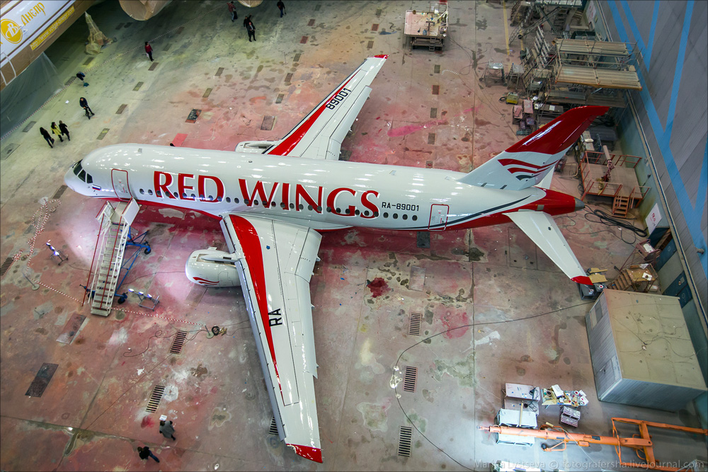 SSJ Red Wings