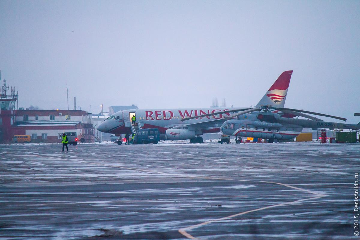 Red Wings начали полёты в Саратов 10