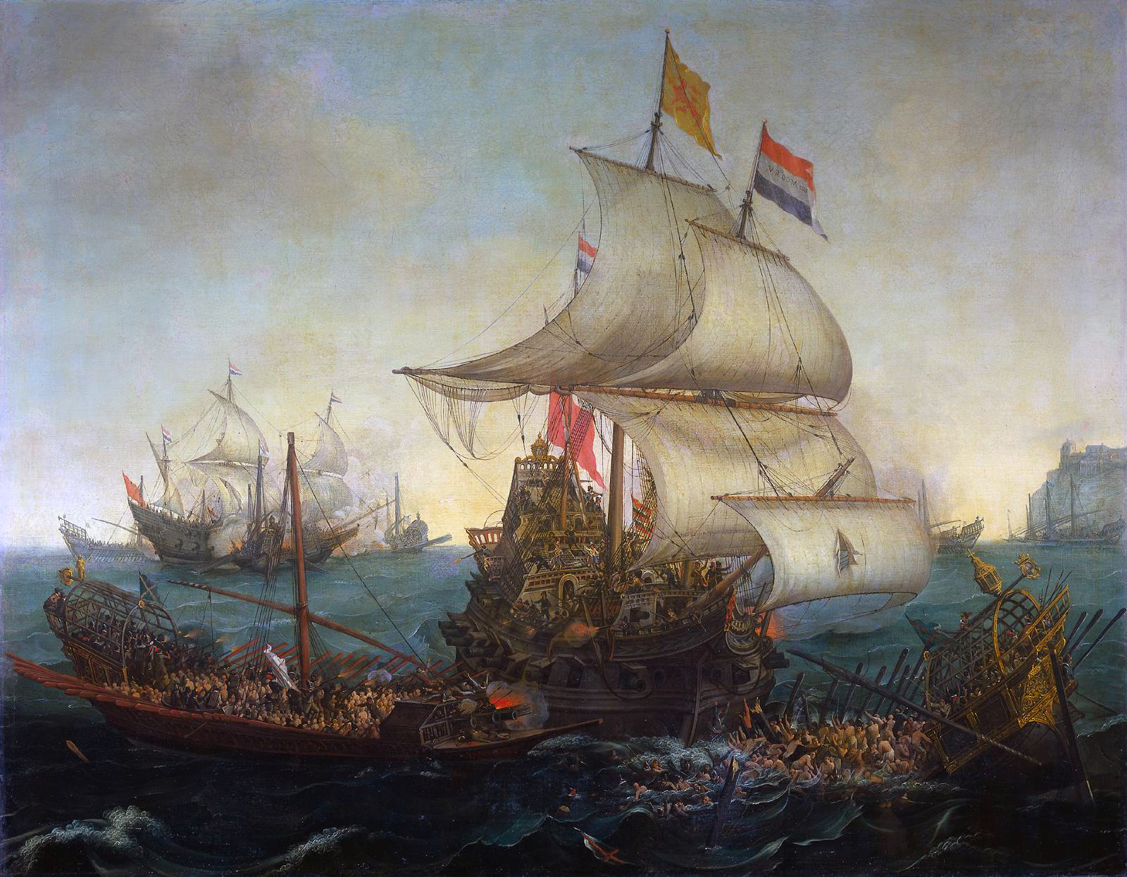 Vroom_Hendrick_Cornelisz_Dutch_Ships_Ramming_Spanish_Galleys_off_the_Flemish_Coast_in_October_1602.jpg