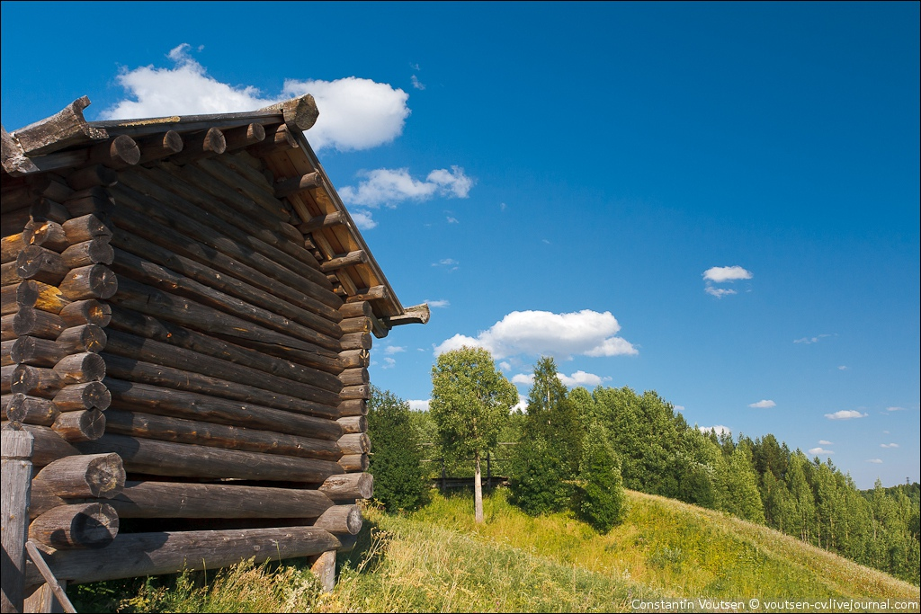 музей деревянного зодчества Малые Корелы