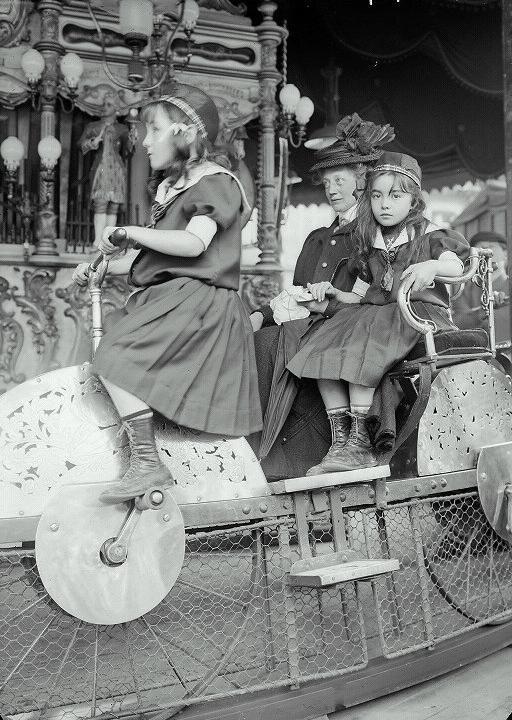 Paris Luna Park Porte Maillot 1910