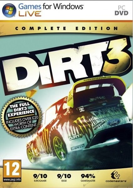 Dirt 3 Complete Edition (2012/RUS/ENG/MULTi5/Full/RePack)