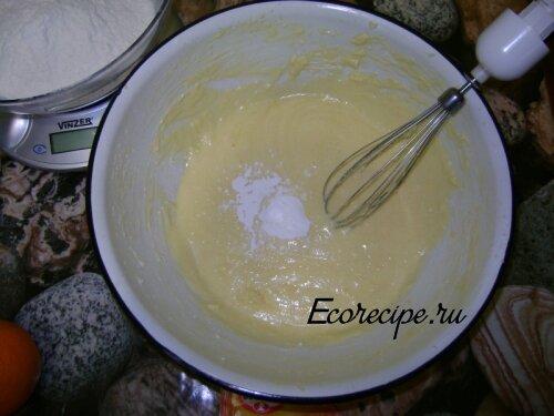 Приготовление теста в блендере для кексов