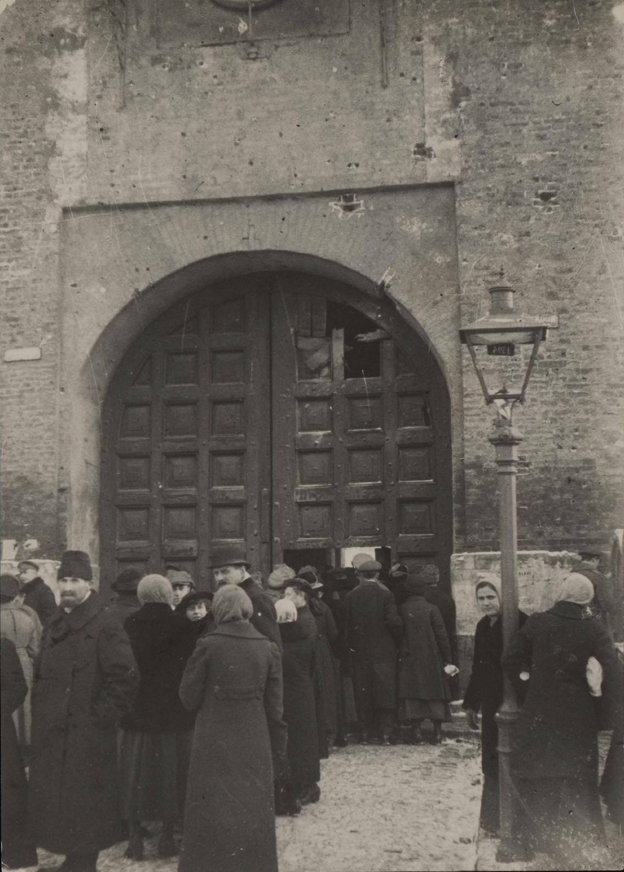 02. Проезжие ворота