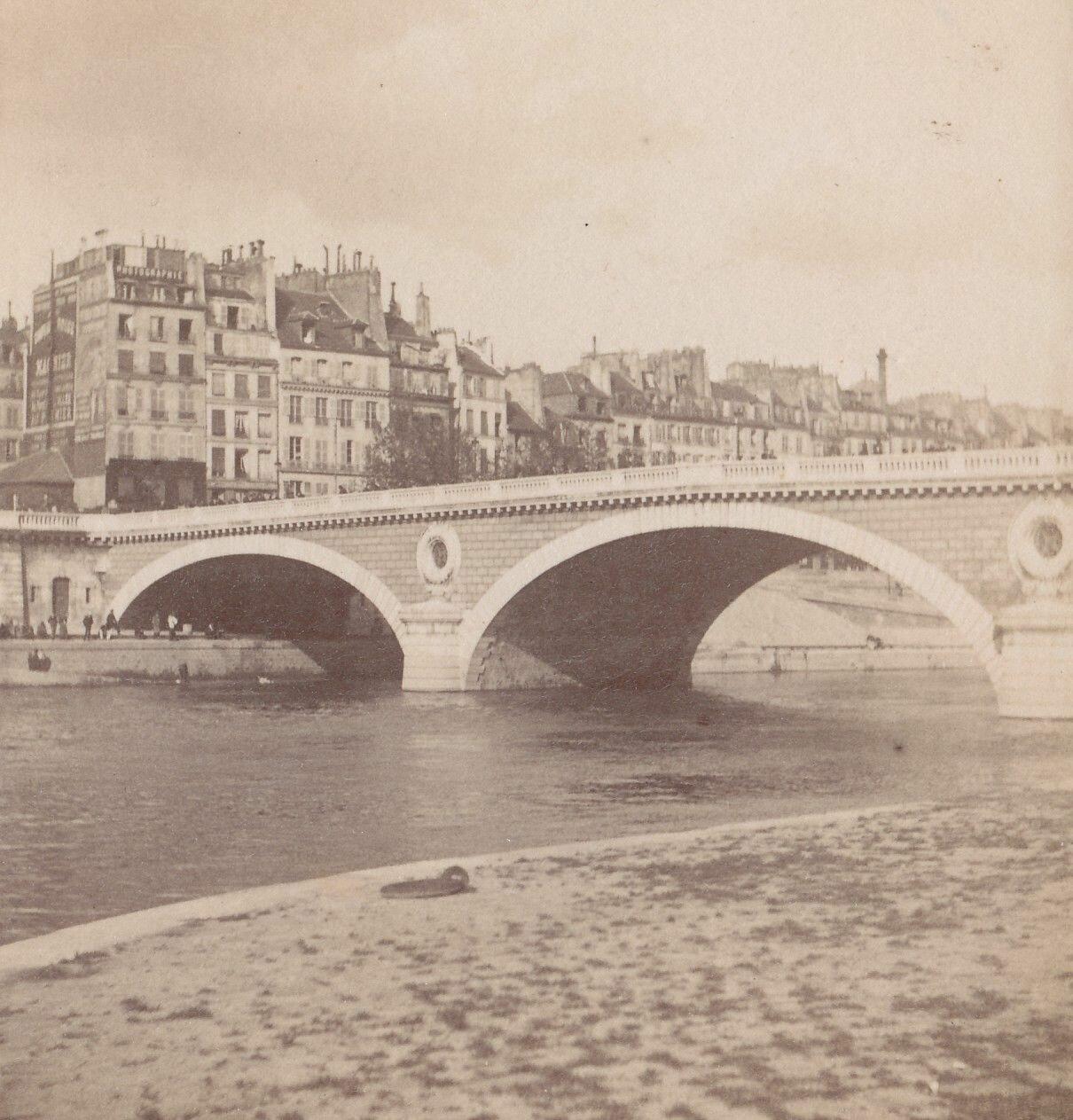 1880-е. Причалы у моста Луи-Филиппа