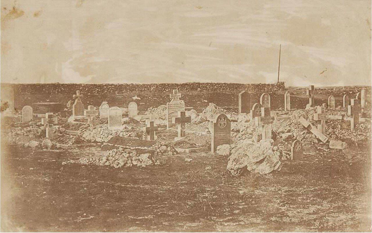 Кладбище на холме Кэткарта, 1855