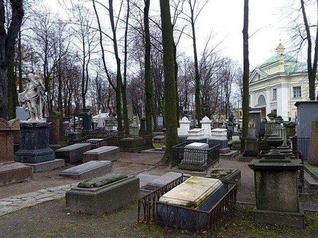 Лазаревское кладбище. Общий вид.