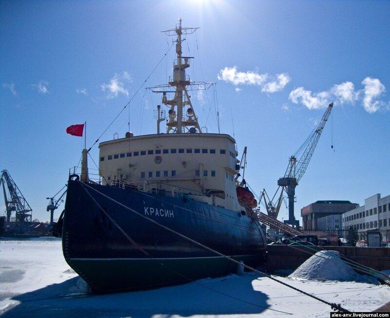 Подводная лодка С-189. Красин, человек и пароход.