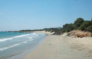 Песчаные пляжи Наксоса