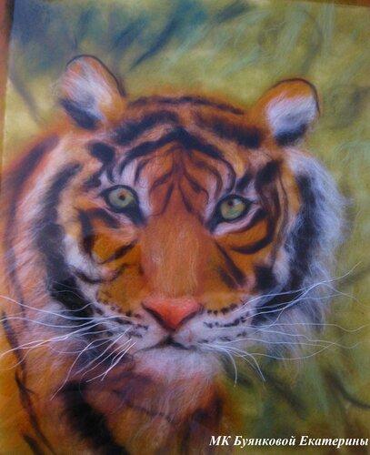 Мастер-класс по рисованию картин из сухой шерсти под стекло на 29 апреля.