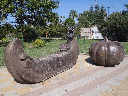 тыква-скамейка