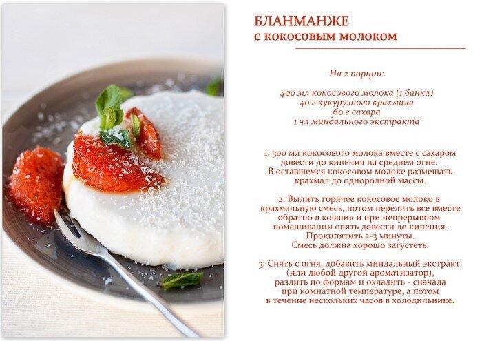 Сладкое блюдо на скорую руку рецепт